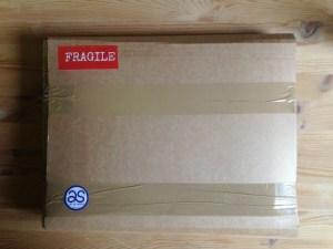 Framed painting parcel