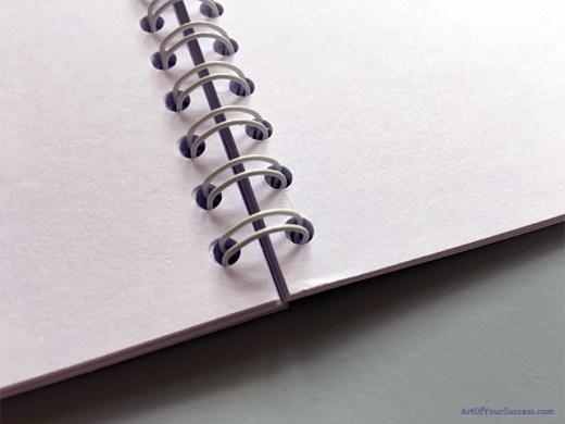 A5 spiral notebook inner