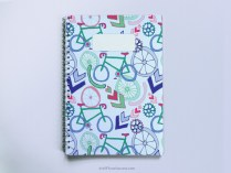 Cycling Spiral Notebook A5