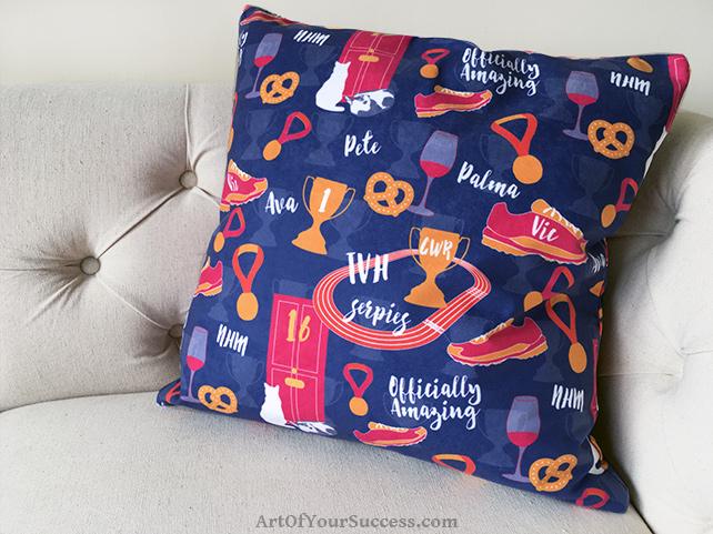 cushion gift for runner