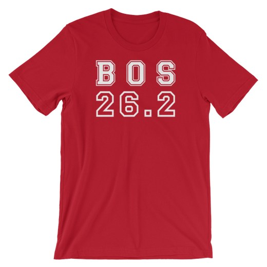 Boston Marathon T shirt