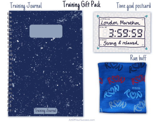 Running training gift pack contents