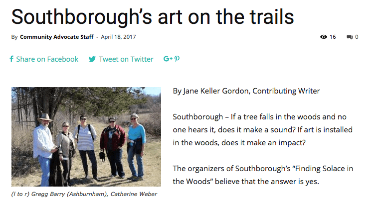 Art on the Trails Publicity