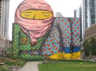 2012 mural by Os Gemeos