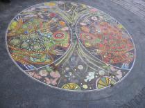 central mosaic