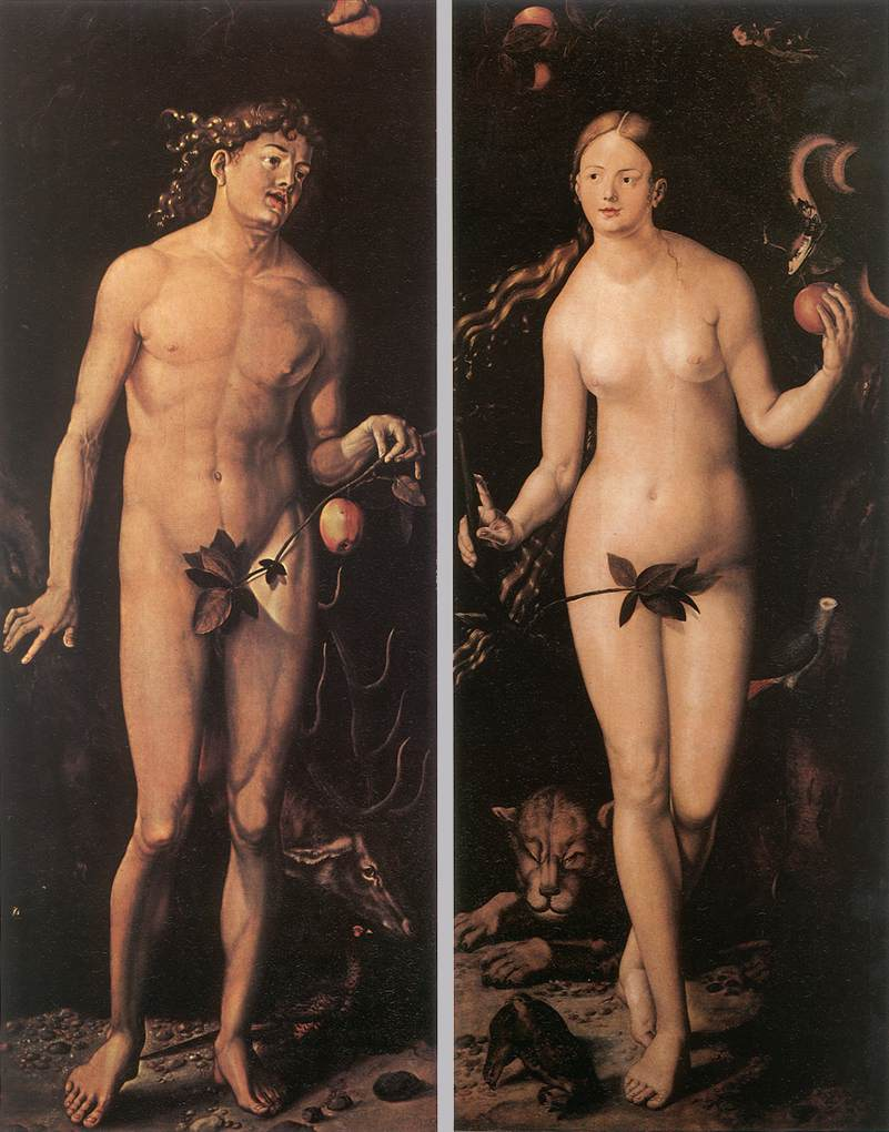 Adam and Eve by Hans Baldung