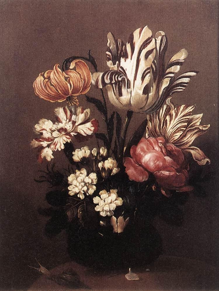 Flower Piece by Hans Bollongier