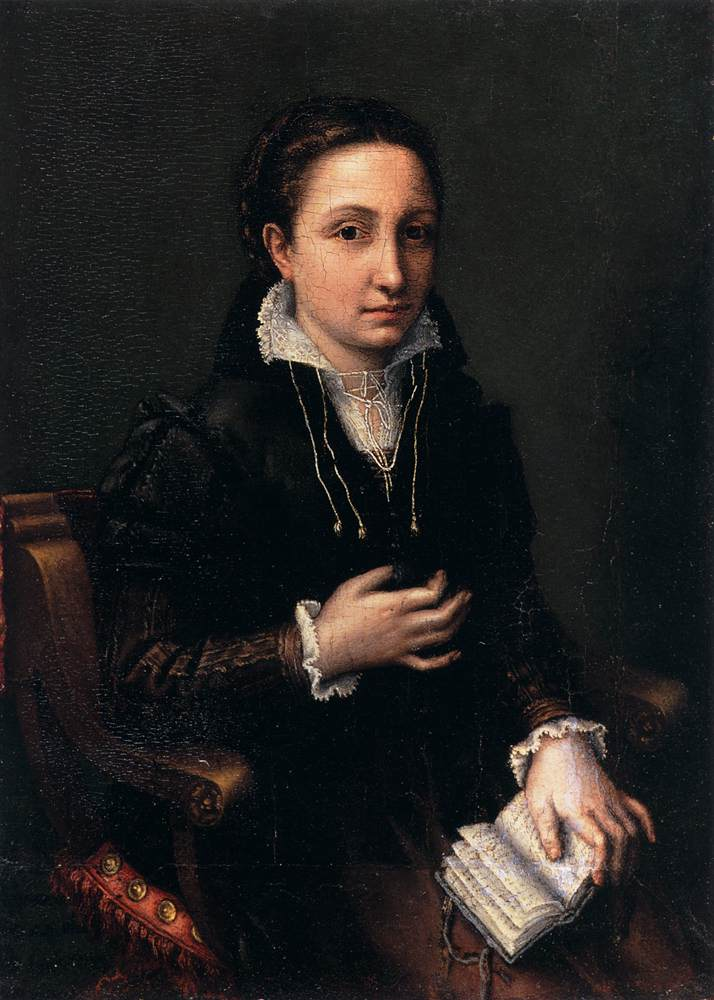 Self-Portrait by Lucia Anguissola