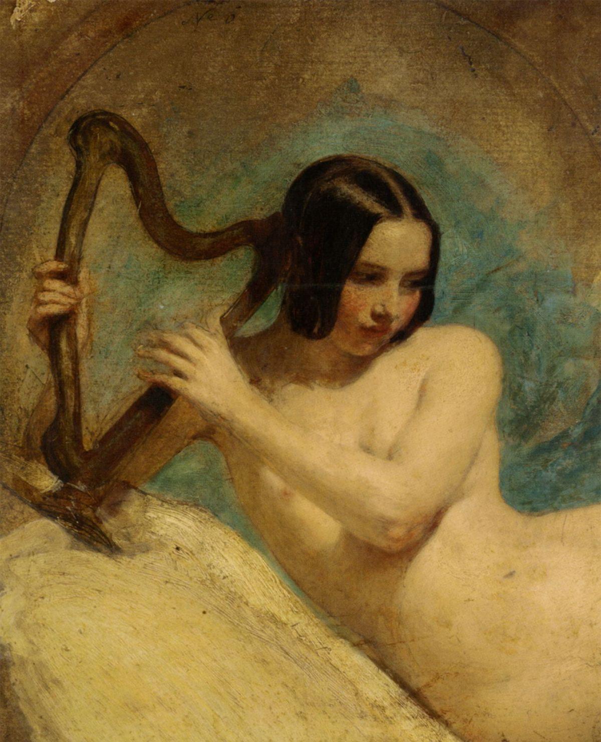 Terpischore by William Edward Frost (British Painting)