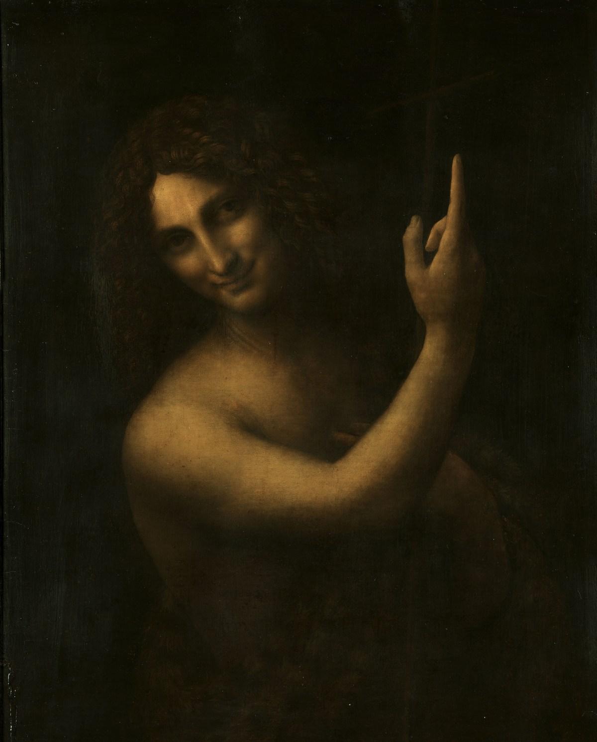 St John the Baptist by Leonardo da Vinci