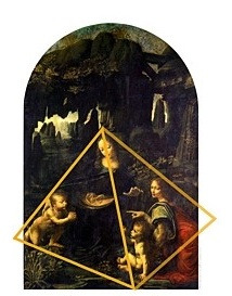 Madonna and child with St Anne in Pyramid Composition
