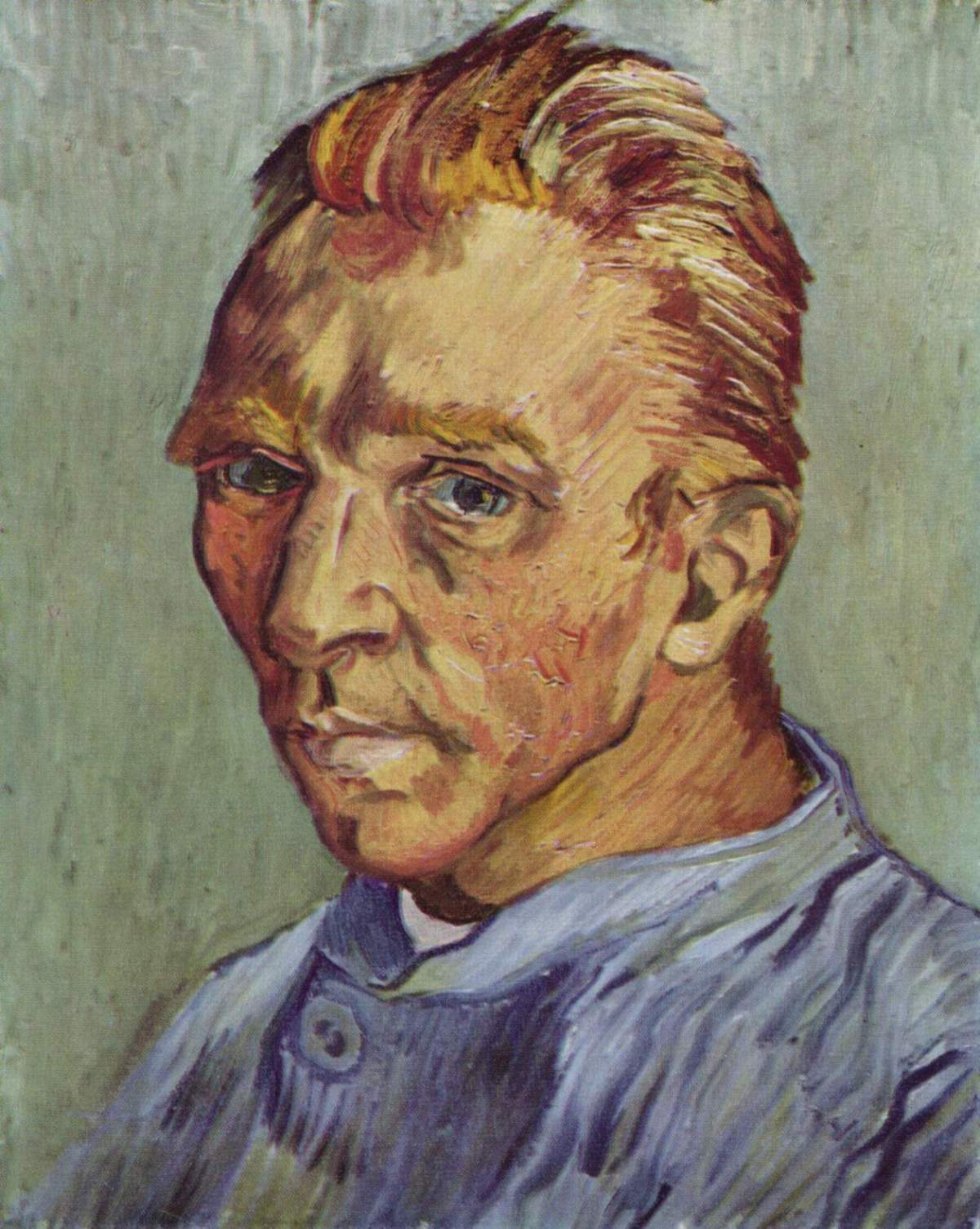 Self Portrait without Beard by Vincent van Gogh