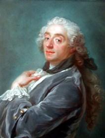 Portrait of Francois Boucher by Gustaf Lundberg