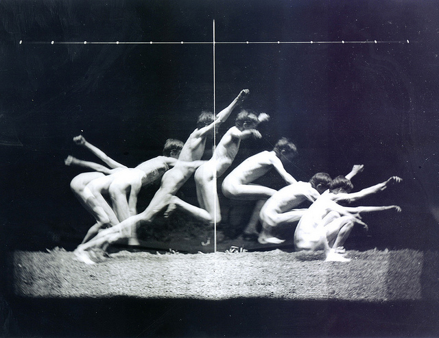 Study in The Human Motion by Eakins Thomas