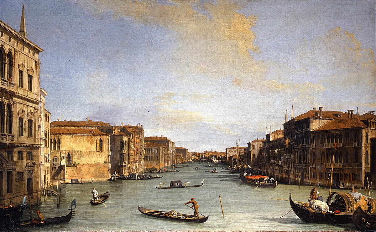 Veduta del canal grande by Canaletto