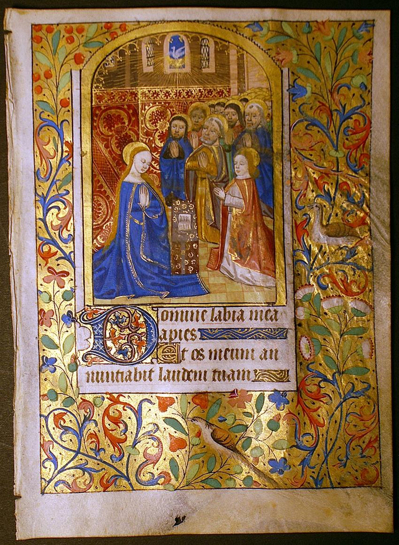Illuminated Manuscript by CHARLES EDWIN PUCKETT