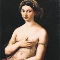La fornarina by Raphael