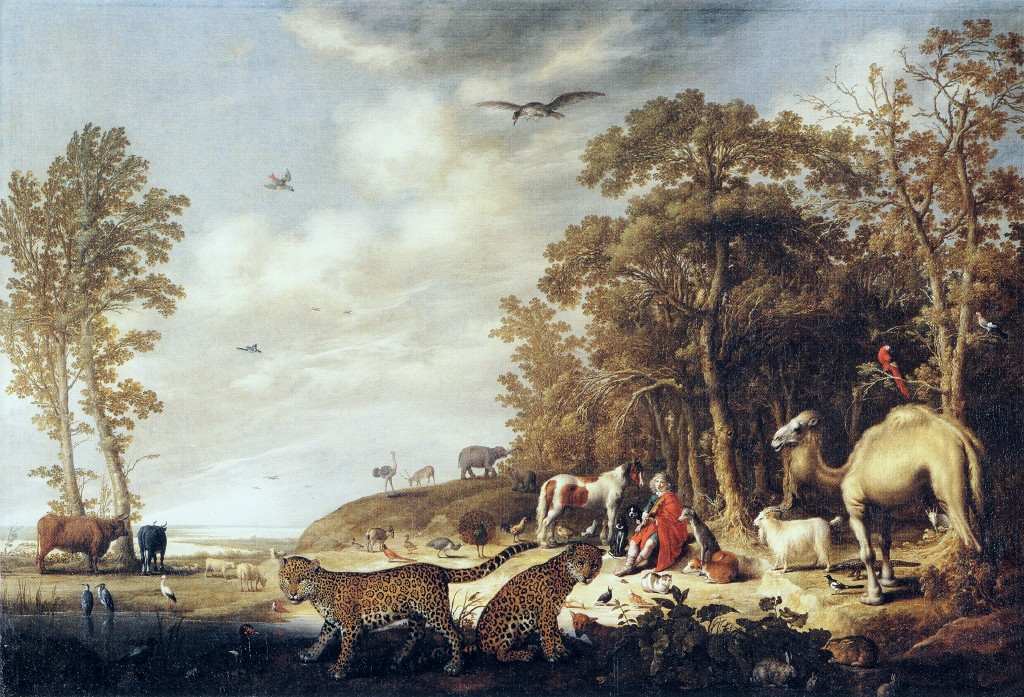 Orpheus with Animals in a Landscape by Aelbert Cuyp