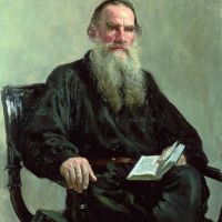 Portrait of Leo Tolstoy by Ilya Repin