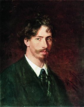 Self Portrait by Ilya Repin (1878)