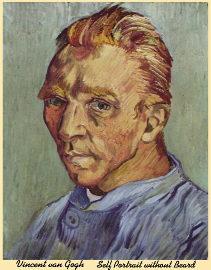 SelfPortrait without Beard Vincent van Gogh