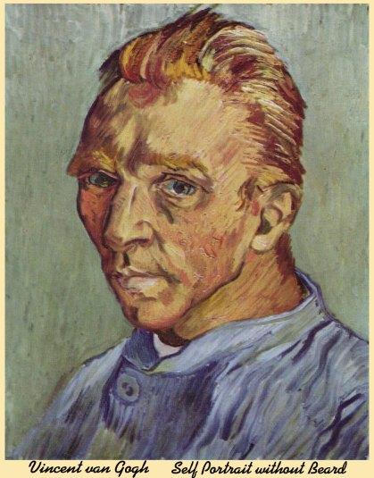 SelfPortrait without Beard Vincent van Gogh