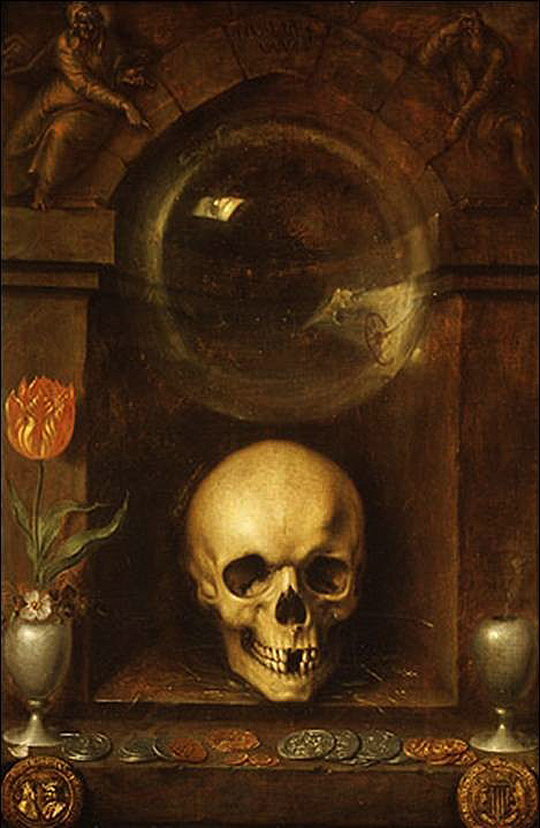Vanitas Still Life by Jacques de Gheyn the Elder