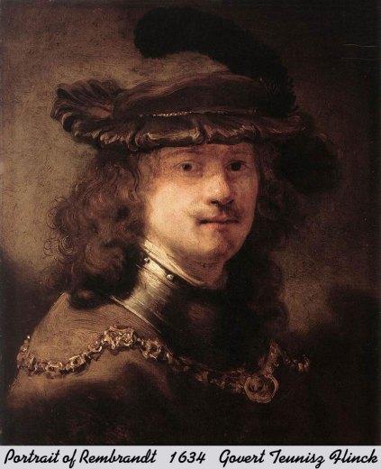 portrait of rembrandt 1634