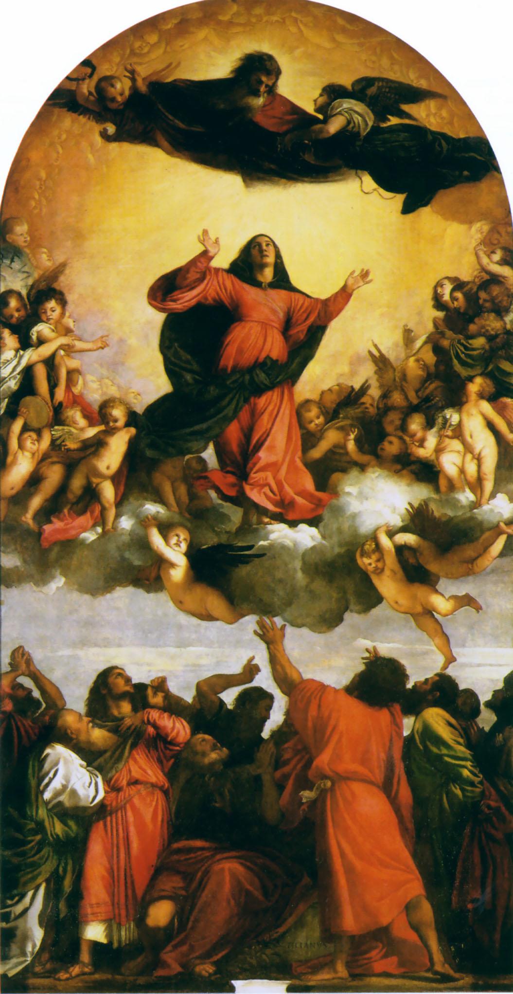 Assumption of the Virgin by Titian