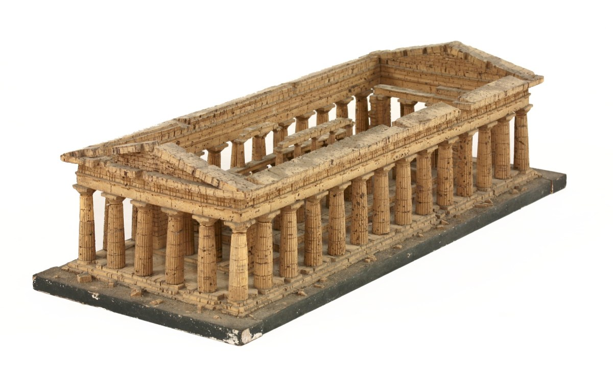 Model of a Greek Temple