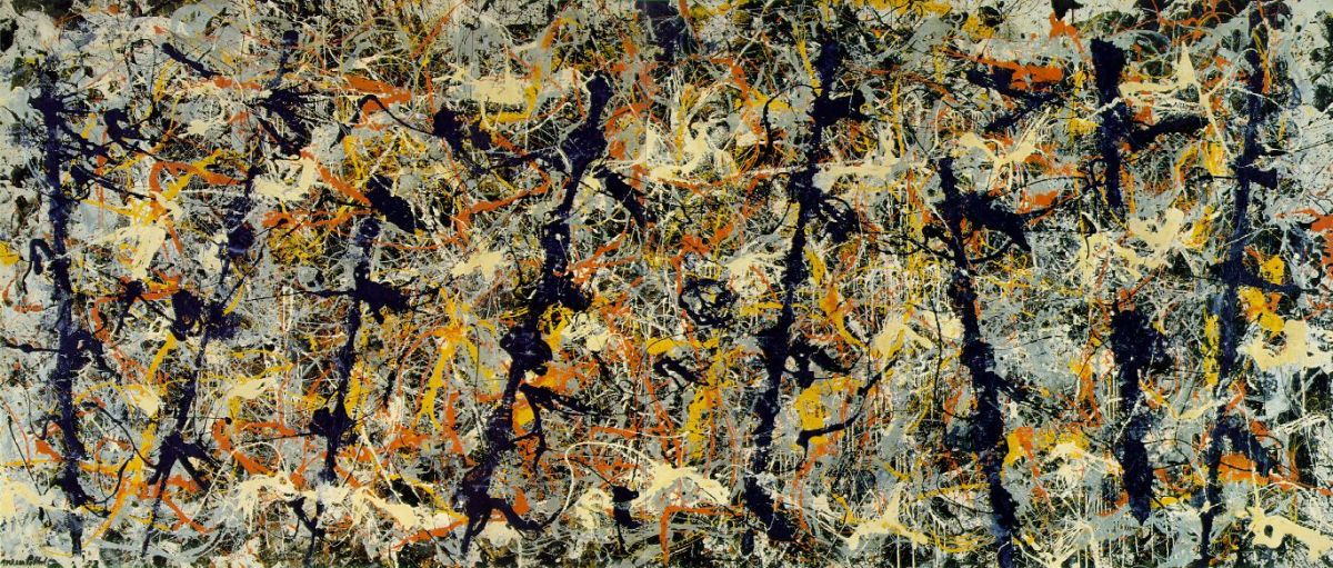 Number 11, 1952 (Blue Poles) by Jackson Pollock
