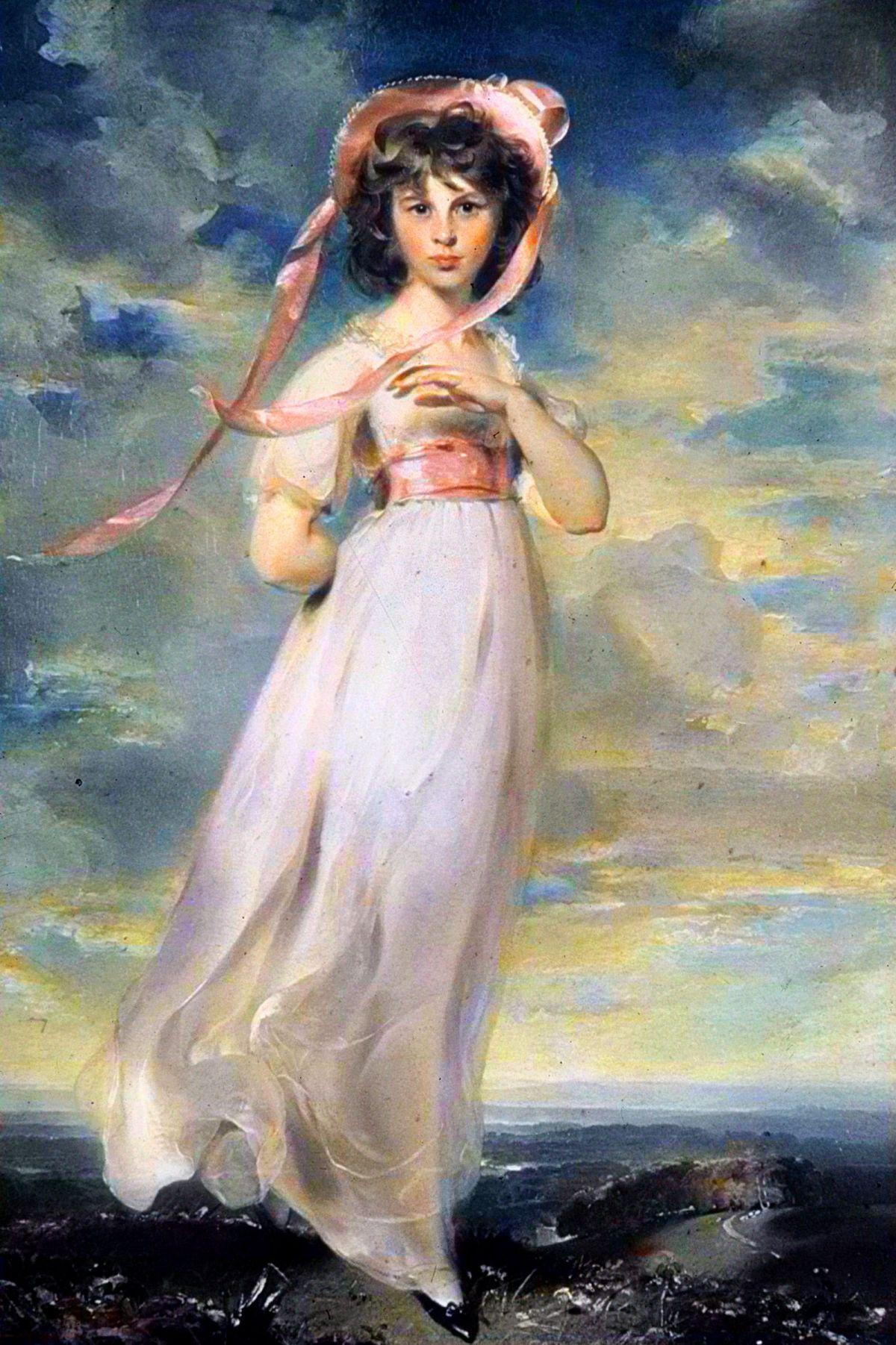 Pinkie by Sir Thomas Lawrence