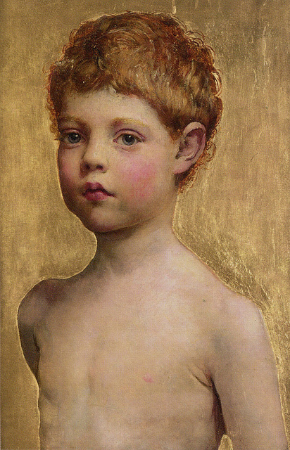 Portrait of a Boy by Annie Swynnerton