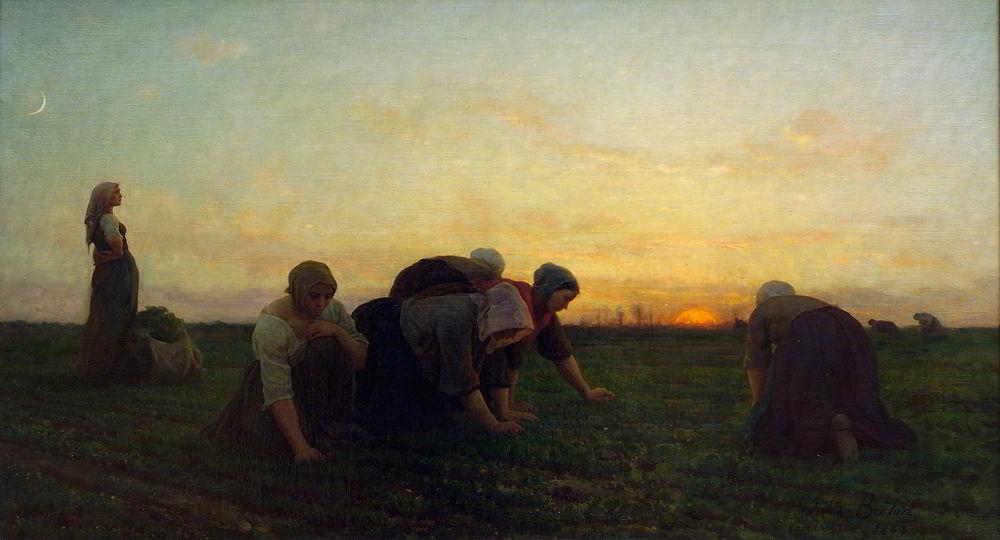 Breton, The Weeders, 1868
