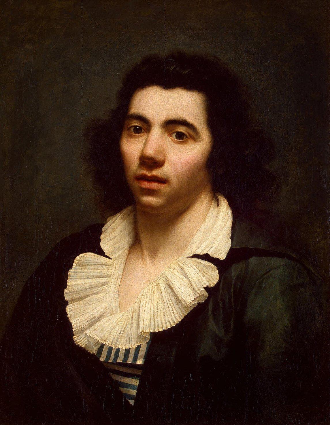 Anne Louis Girodet de Roucy Triosson-Portrait Painting