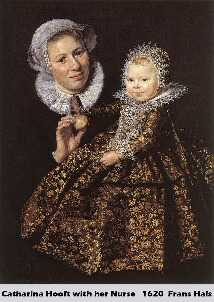Catharina Hooft with her Nurse by Frans Hals