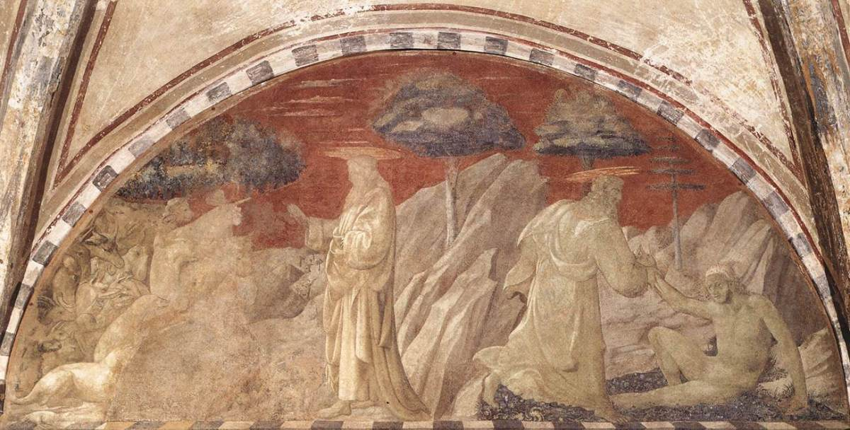 Creation of the Animals and Creation of Adam by Paolo Uccello