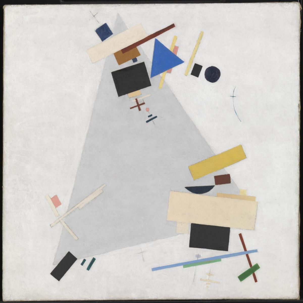 Dynamic Suprematism by Kazimir Malevich