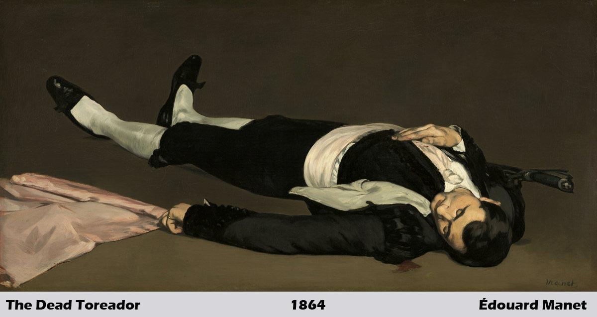 The Dead Toreador by Édouard Manet