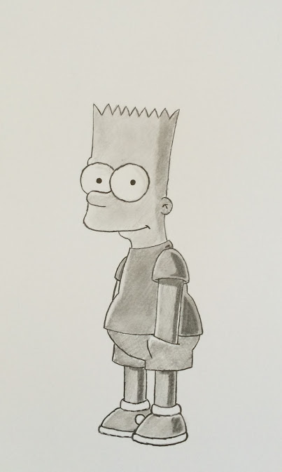 Bart Simpson by Paul Hill