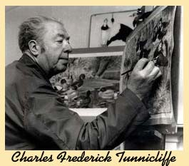 Flashback 23 Charles Tunnicliffe painter/ artist Daily Post Wales 150206
