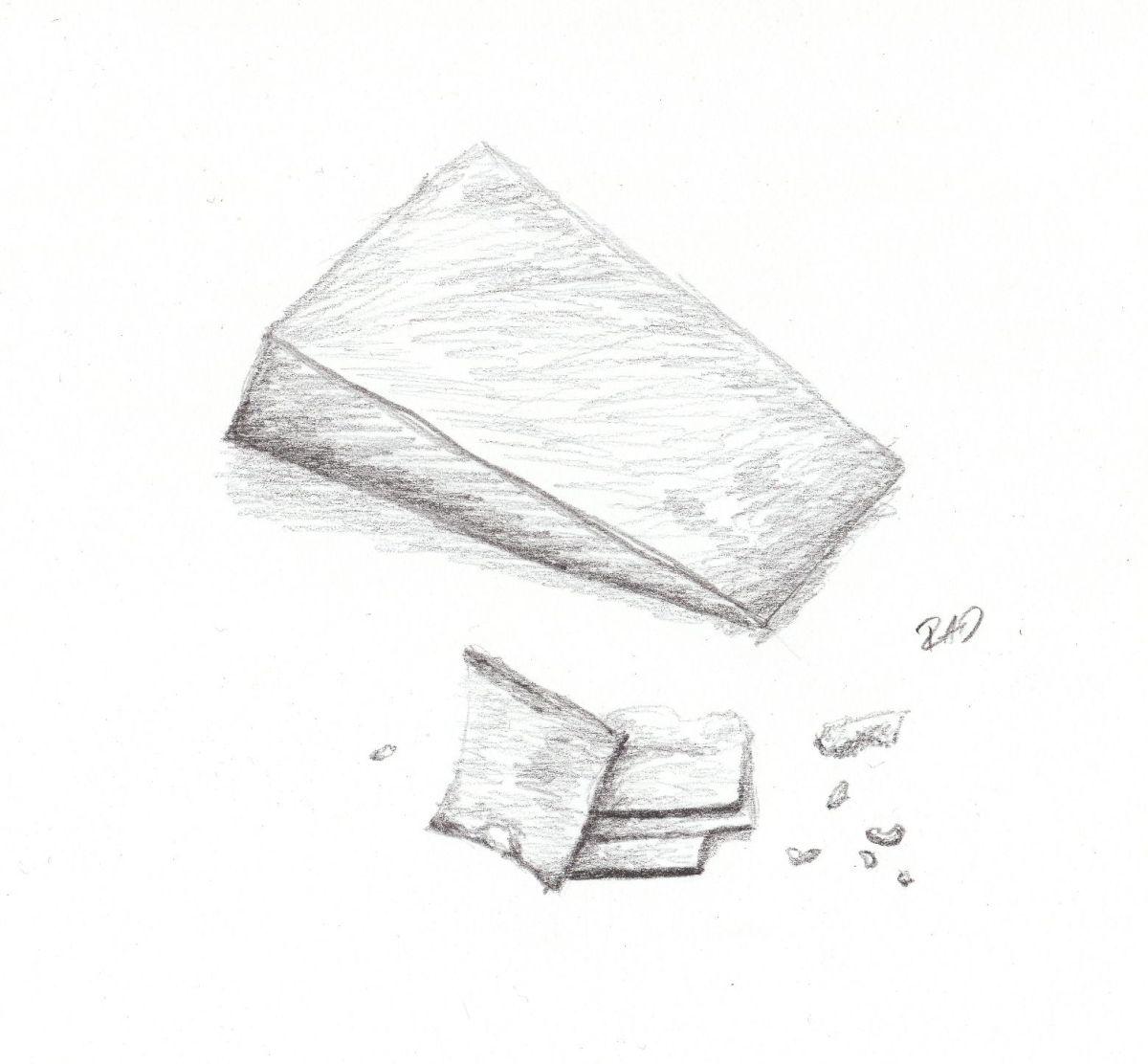 Cheese Block by Rachel Desilets