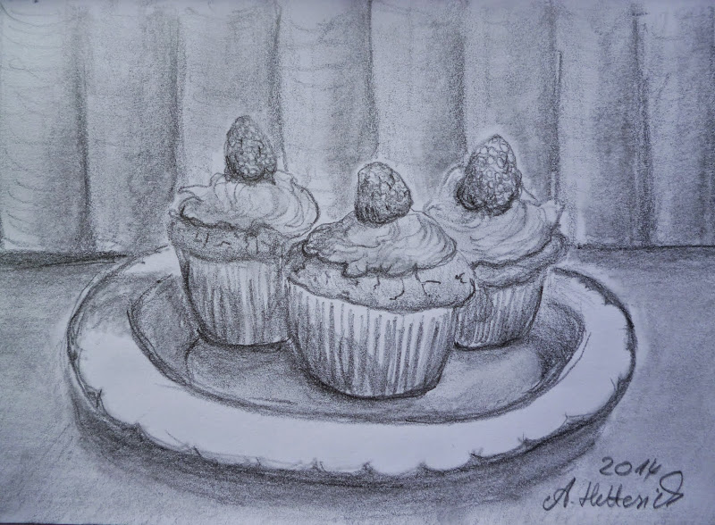 Muffins by Angelika Hetterich
