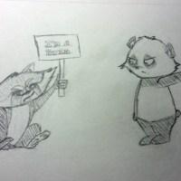 Pandas Only by Tiffao Murrizawa