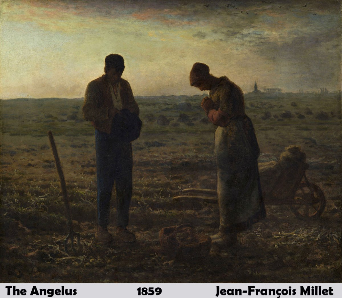 The Angelus by Jean Francois Millet
