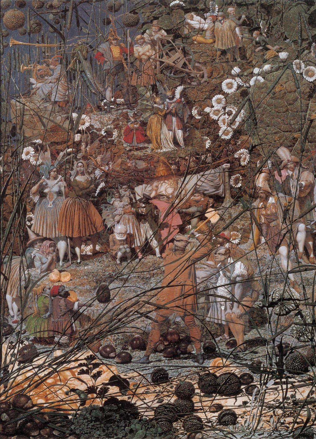 The Fairy Fellers Master Stroke by Richard Dadd