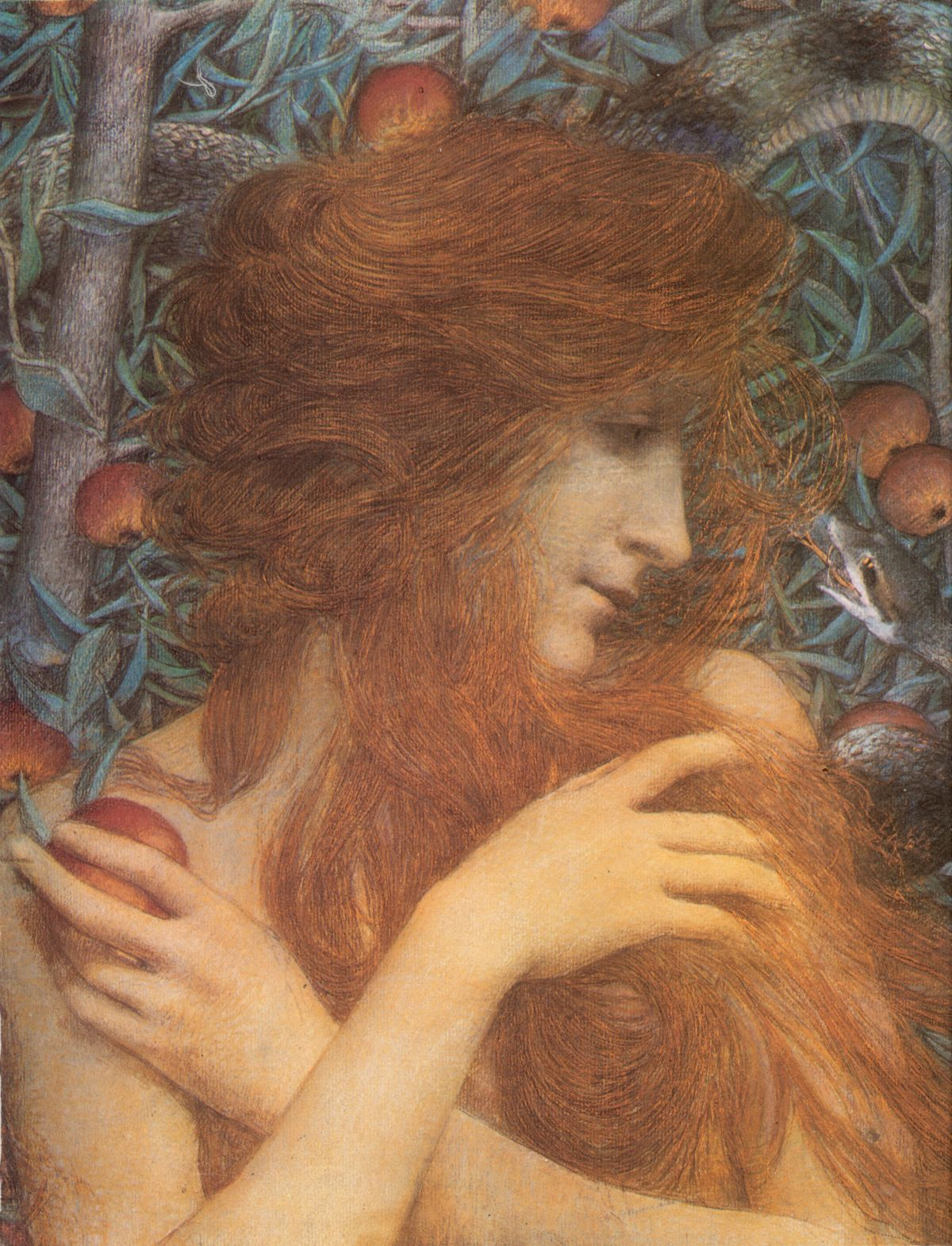 Eve by Lucien Levy Dhurmer