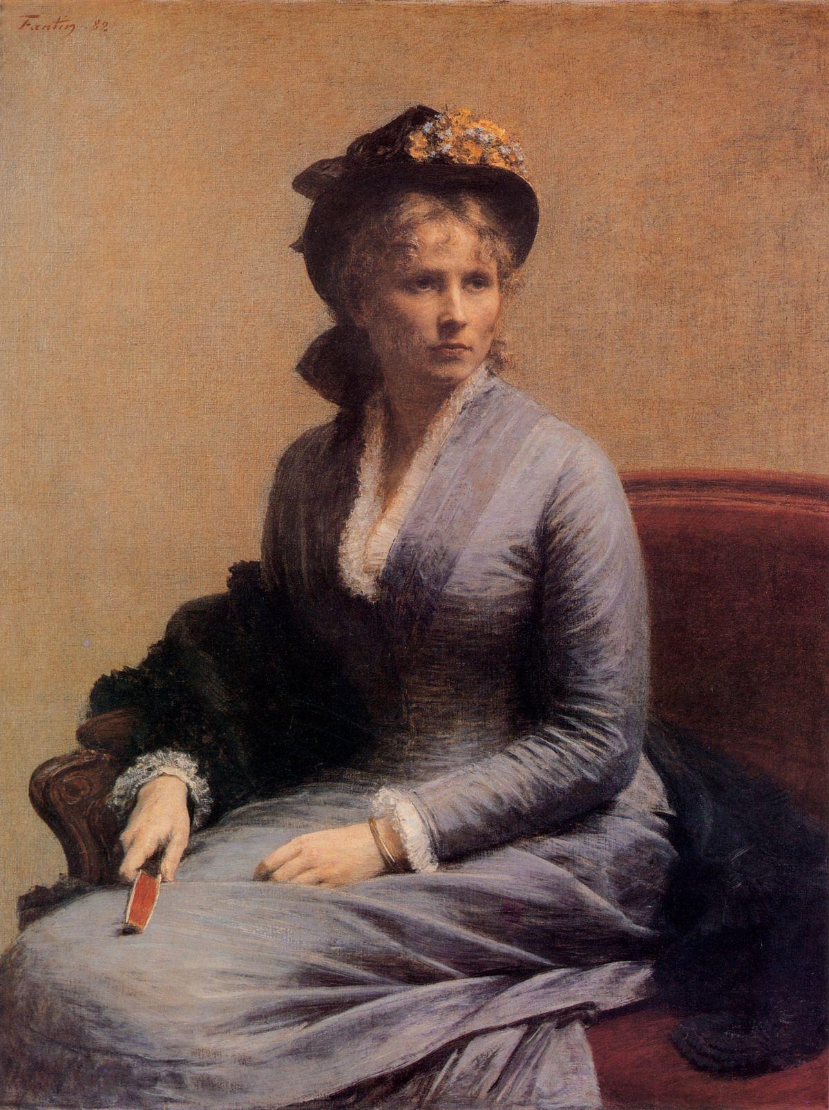 Charlotte Dubourg by Henri Fantin Latour