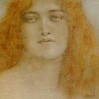 Etude de Femme by Fernand Khnopff