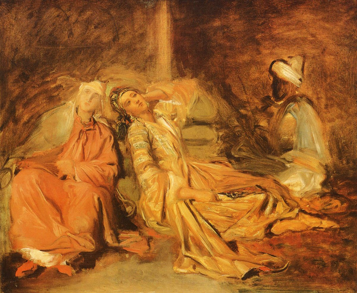 Harem by Theodore Chasseriau